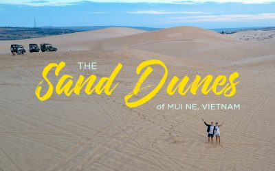 Exploring the Sand Dunes in Mui Ne, Vietnam