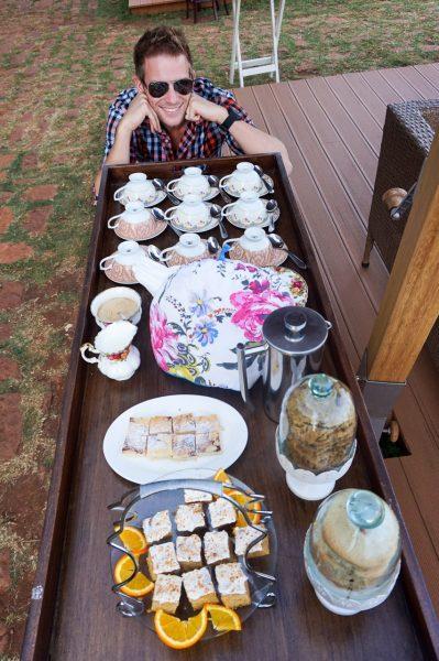 Giraffe Manor Afternoon Tea