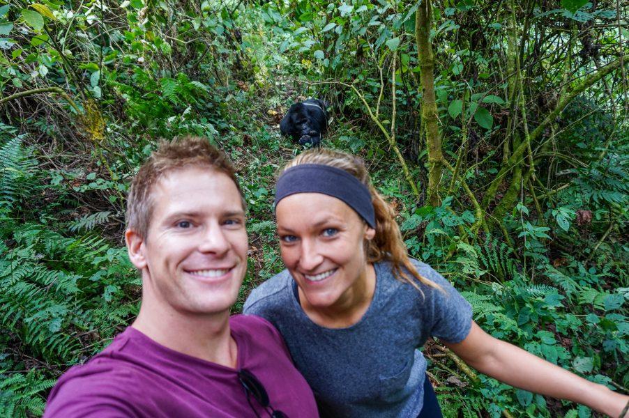 Trekking with Gorillas