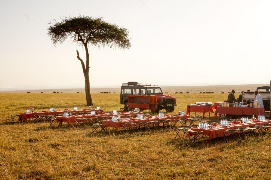 Sunrise Breakfast Masai Mara