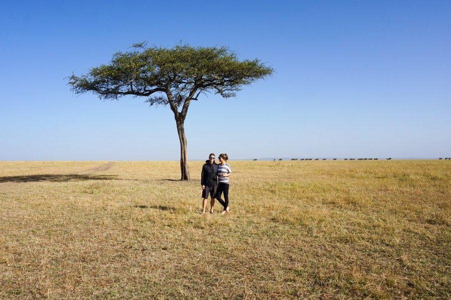 Safari in the Masai Mara