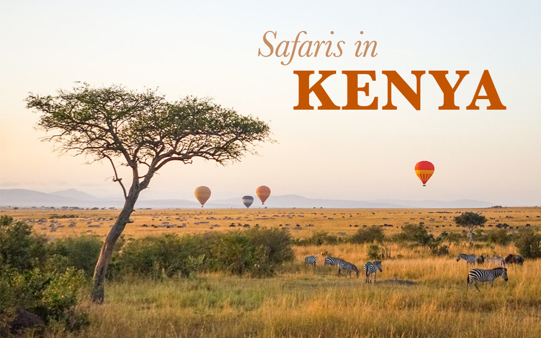 The Best Safaris of Kenya: by Hot Air Balloon, Bike & 4WD