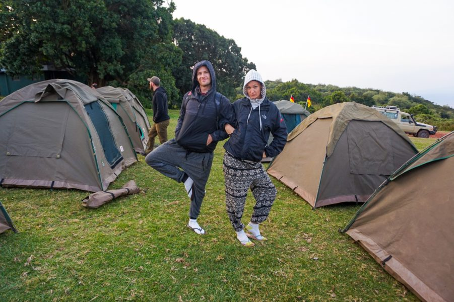 Camping in the Ngorongoro Crater