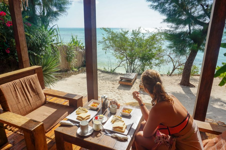 Breakfast at Seasons Lodge Zanzibar