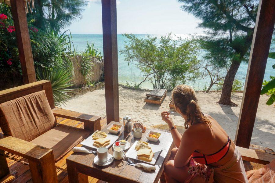 Breakfast at Seasons Lodge Zanzibar