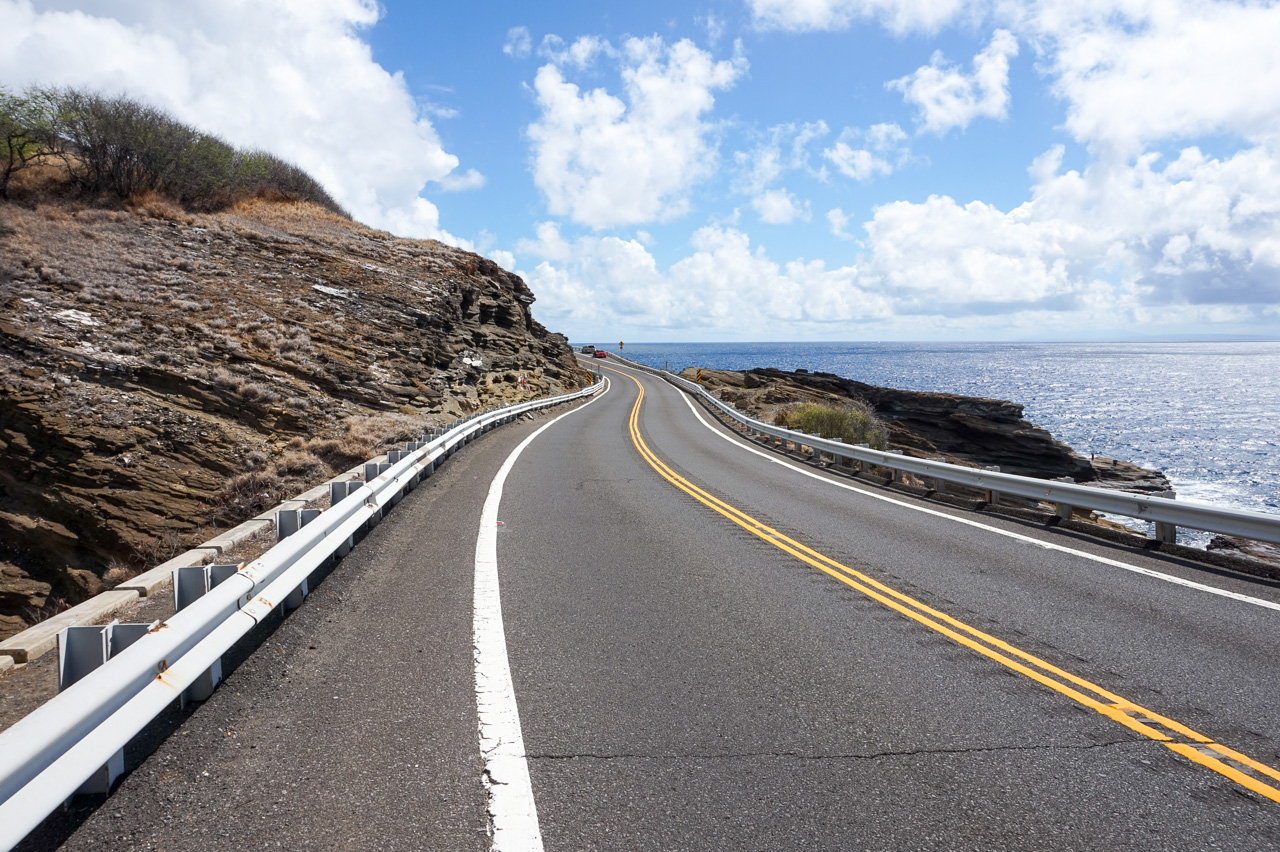 Coastal Drive of Oahu