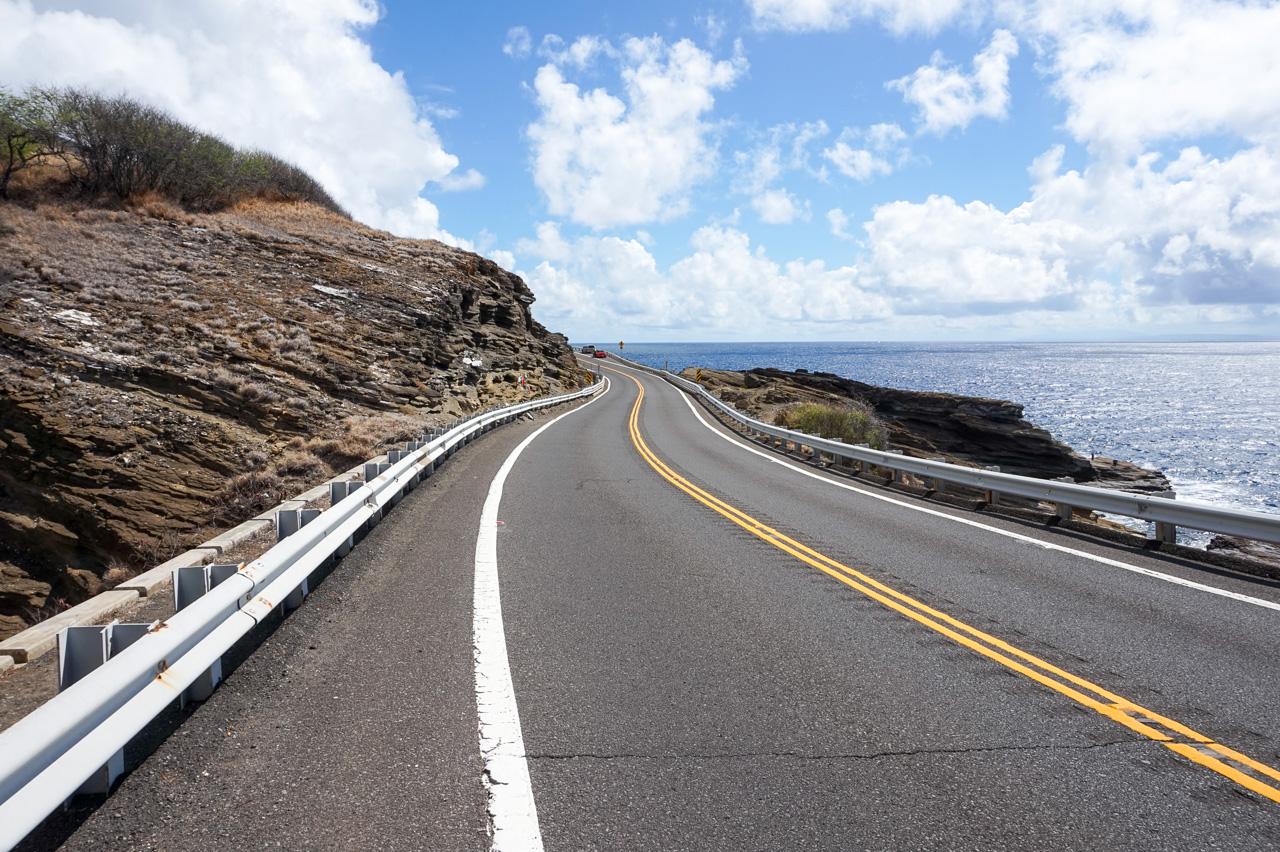 Coastal Drive of Oahu