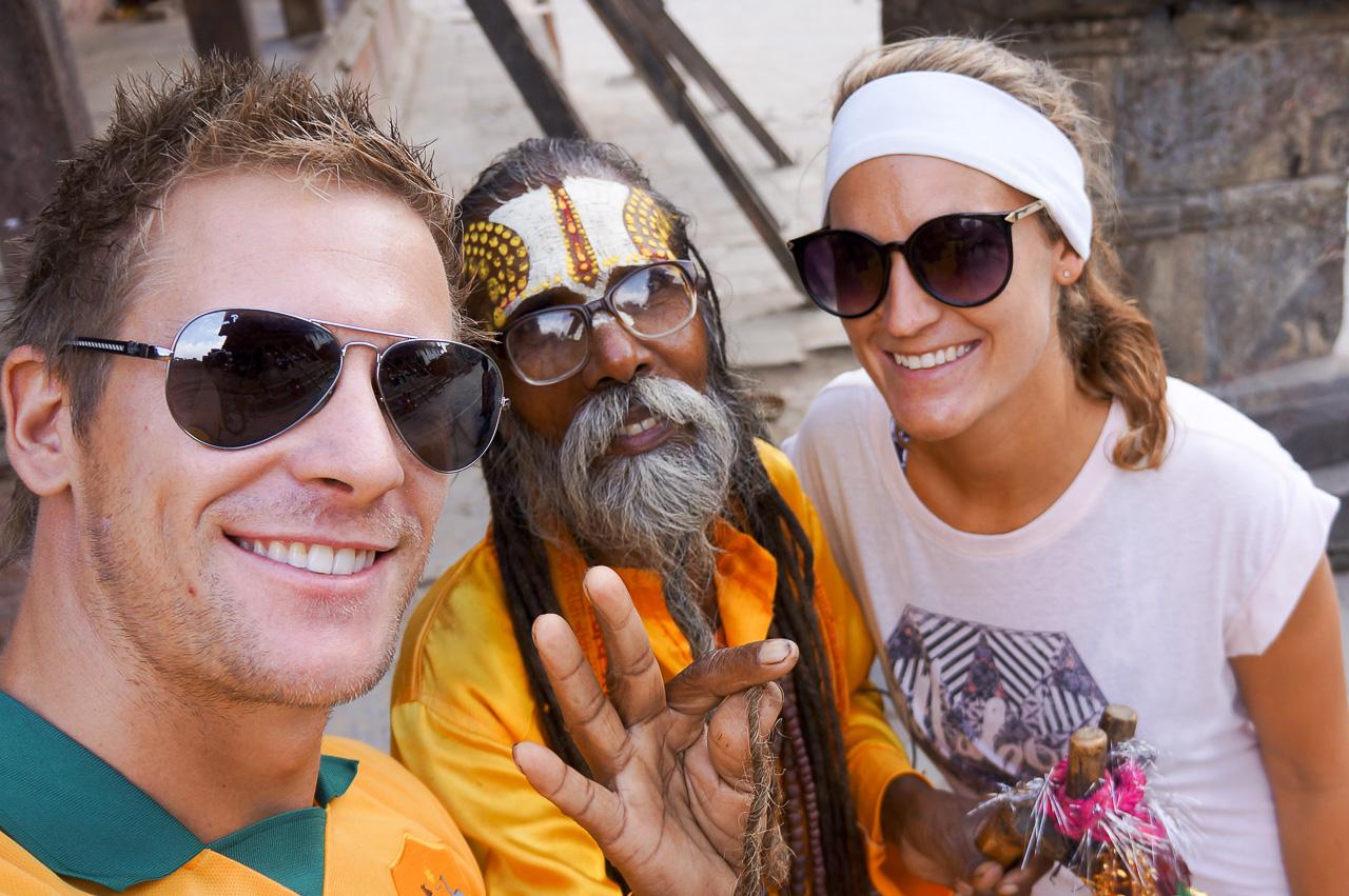 Locals in Nepal