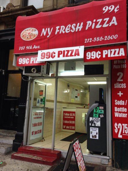 99c Pizza Hells Kitchen