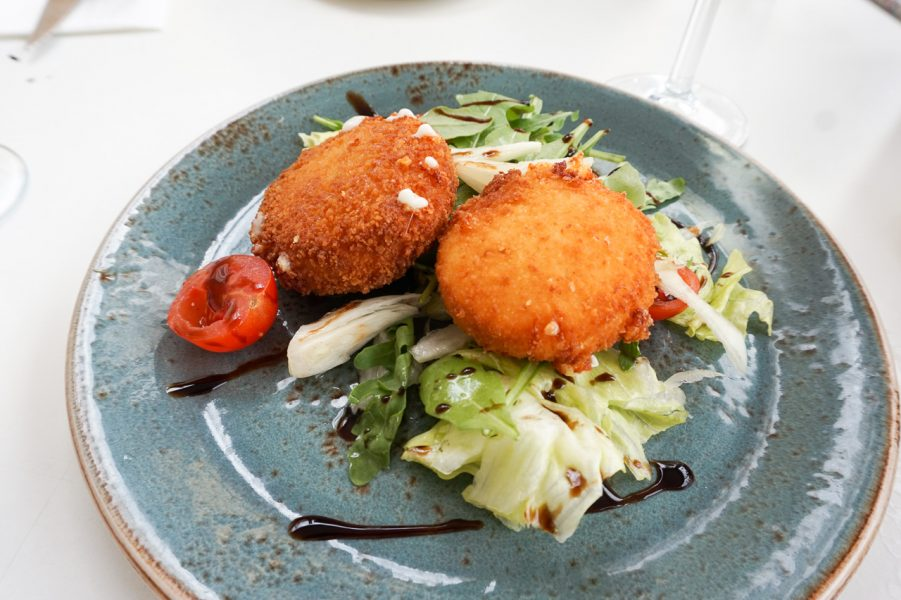 Deep Fried Goats Cheese