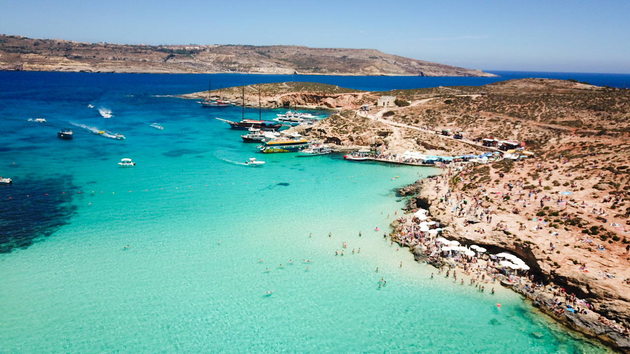 The Blue Lagoon, Comino