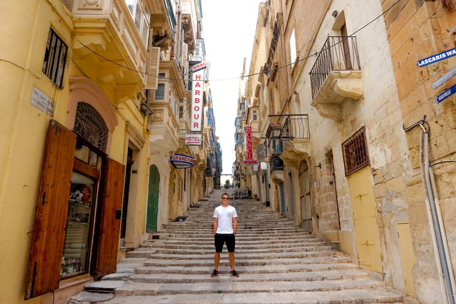 The Streets of Valletta