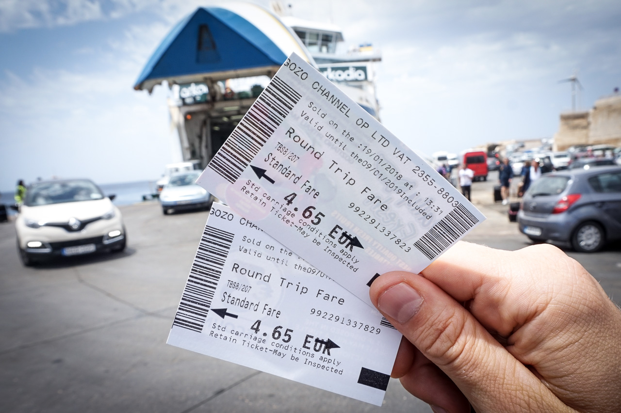 Gozo Ferry Tickets