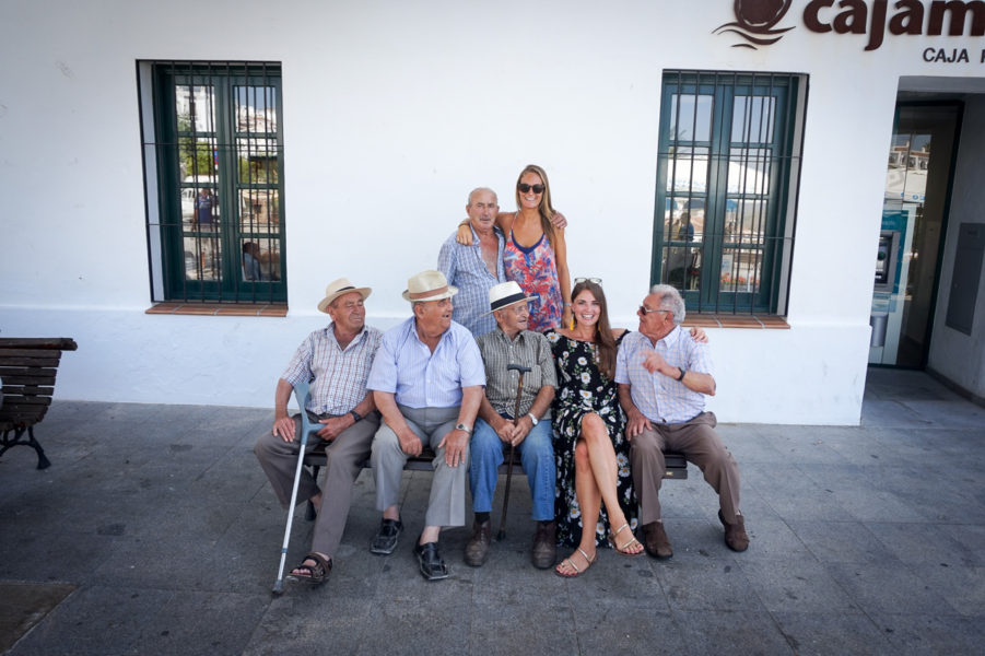 Locals of Frigiliana