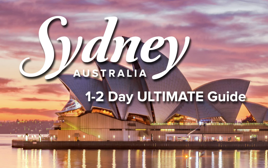 Sydney, Australia 1-2 Day Itinerary & Travel Guide | Just ...