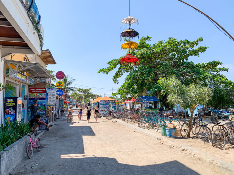 The Streets of Gili T