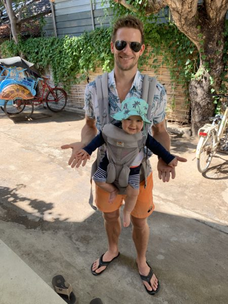 Gili Islands with a baby