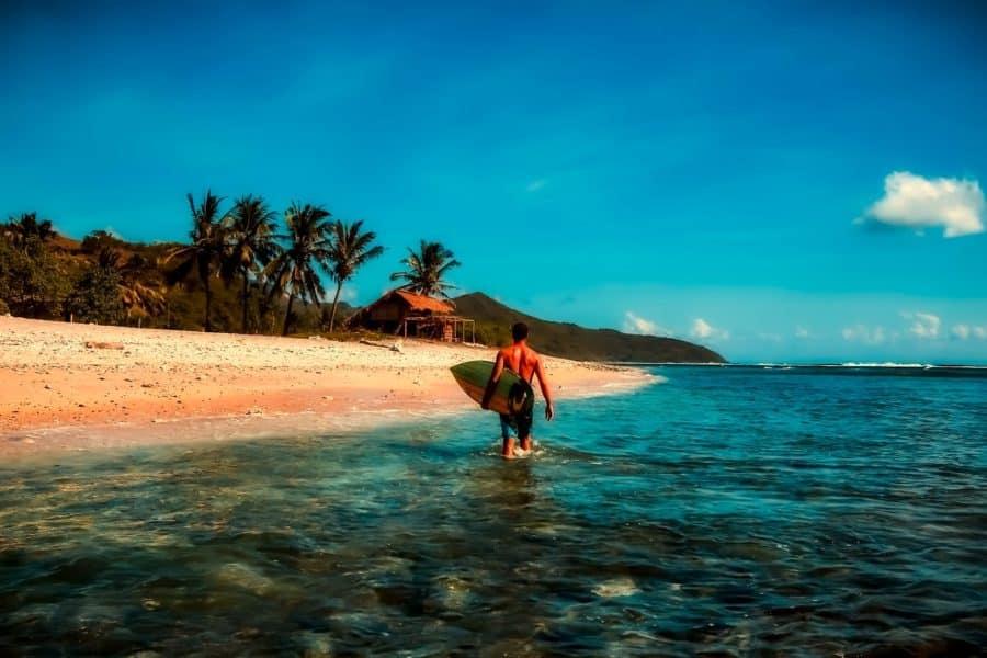 Sumur Tiga Beach, Aceh, Indonesia